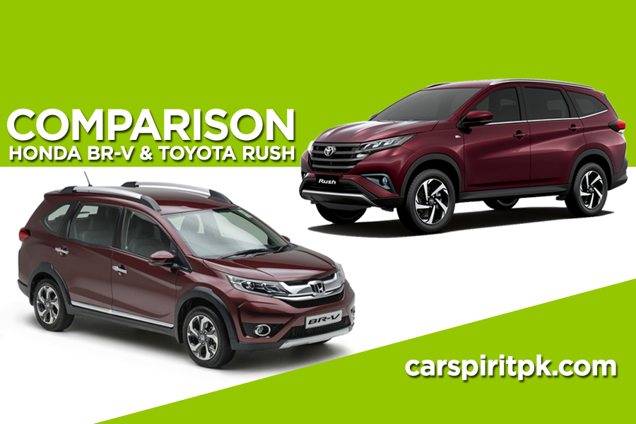 Comparison: Toyota Rush and Honda BR-V